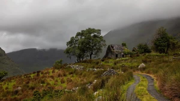 Enlace a El maravilloso paisaje irlandés
