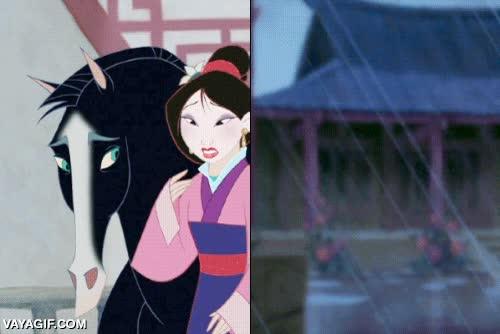 Enlace a Mulan resumido en un gif
