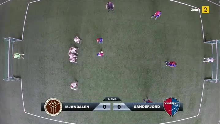 Enlace a Jugando un partido de fútbol real con vista cenital gracias a la realidad virtual