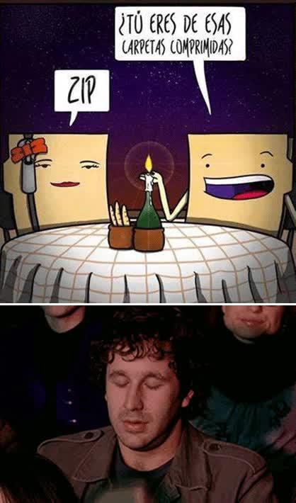 Enlace a Un chiste muy comprimido en un gif