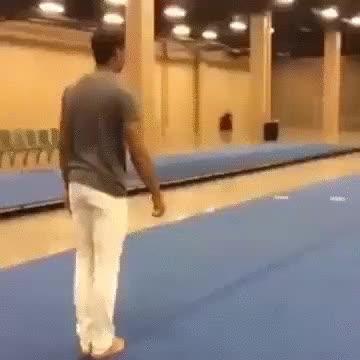 Enlace a Cuando dos grandes gimnastas se sincronizan