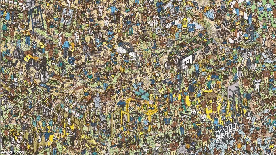 Enlace a ¿Dónde está Wally?