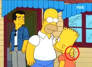 Enlace a La mano fantasma de Homer