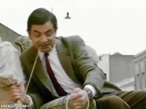 Enlace a Mr. Bean puede parecerte tonto si quieres, pero en realidad es un genio