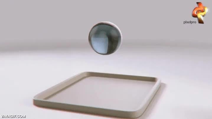Enlace a Genial y muy realista simulación por ordenador de fluidos densos cayendo