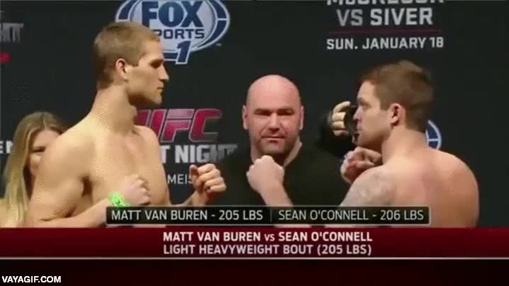 Enlace a Sean O'Connell, el luchador más troll de la UFC en los pesajes