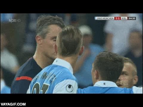 Enlace a El árbitro alemán impasible