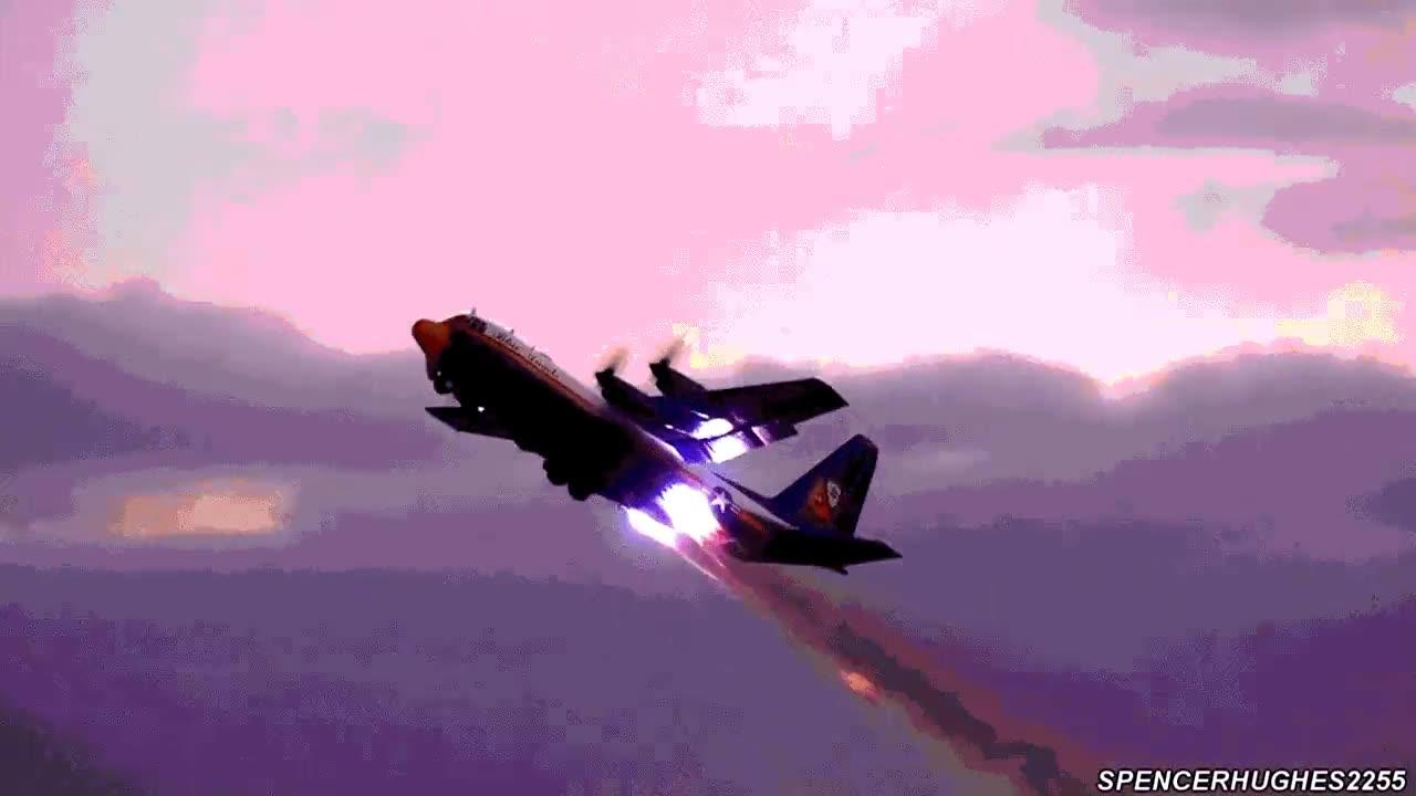 Enlace a El despegue asistido con cohetes de reacción del C130 Cargo