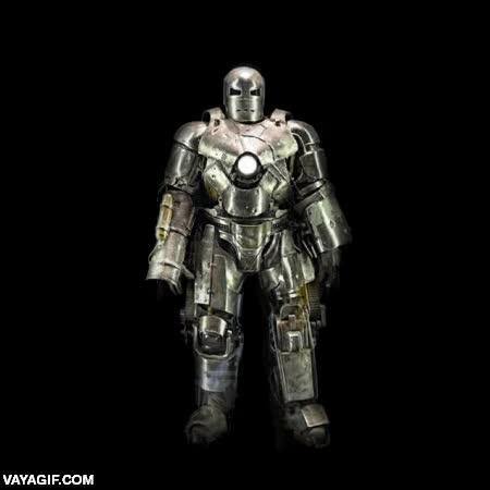 Enlace a La evolución del traje de Iron Man en un solo gif