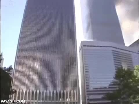Enlace a Punto de vista increíble del colapso de las torres gemelas el 11-S