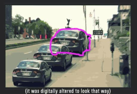 Enlace a Ilusión óptica. ¿Qué coche crees que es más grande?