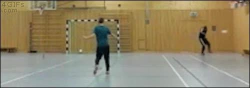 Enlace a El doble pelotazo más improbable