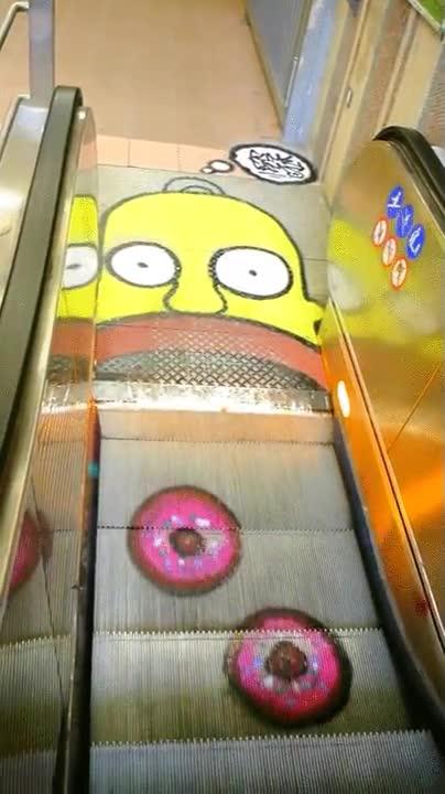 Enlace a Ojalá todas las escaleras mecánicas fueran así de creativas