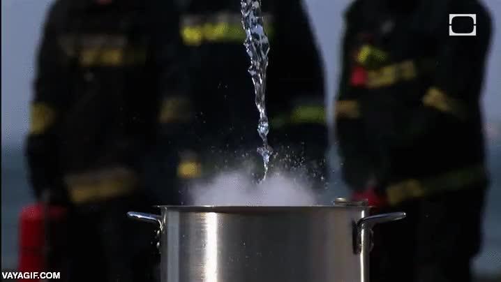 Enlace a Grasa caliente + agua. A ponerse todos a salvo