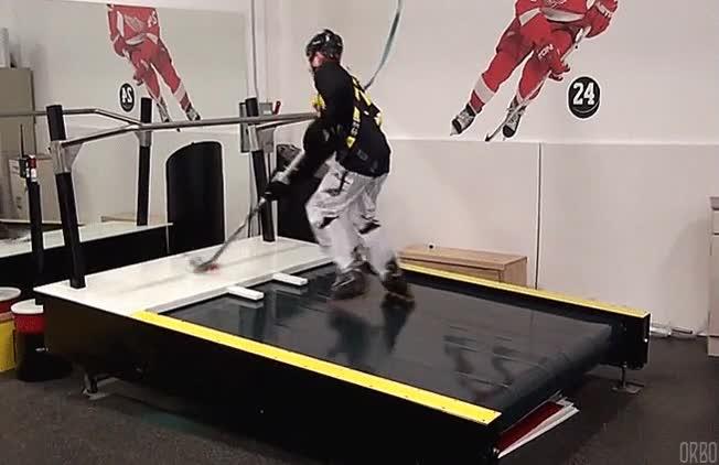 Enlace a Así entrenan los jugadores de hockey sobre hielo cuando no tienen pista