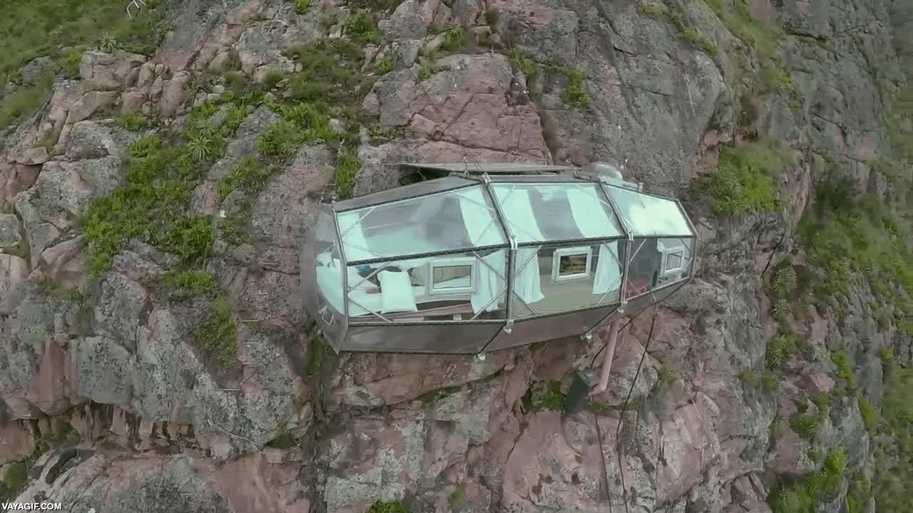 Enlace a Si tienes miedo a las alturas, este hotel en la loma de la montaña en Perú no es para ti