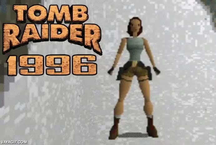 Enlace a La evolución de Lara Croft