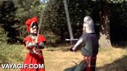 Enlace a Los caballeros medievales sabían lo que era la cortesía