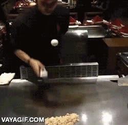 Enlace a Máximo control del huevo el de este cocinero