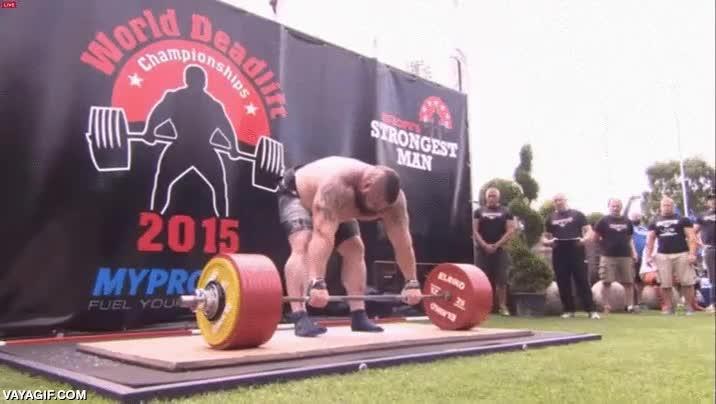 Enlace a Eddie Hall establece un nuevo récord mundial levantando 463kg