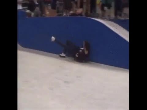 Enlace a Esto está hecho a propósito, el truco skater de espaldas