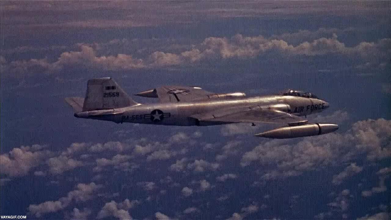 Enlace a Así se ve una explosión nuclear desde un avión del ejército