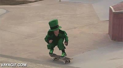 Enlace a Trucos de skate, nivel Leprechaun