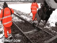 Enlace a Así se restauran y arreglan las vías del tren