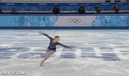 Enlace a Para dedicarte al patinaje sobre hielo necesitas una gran tolerancia al mareo