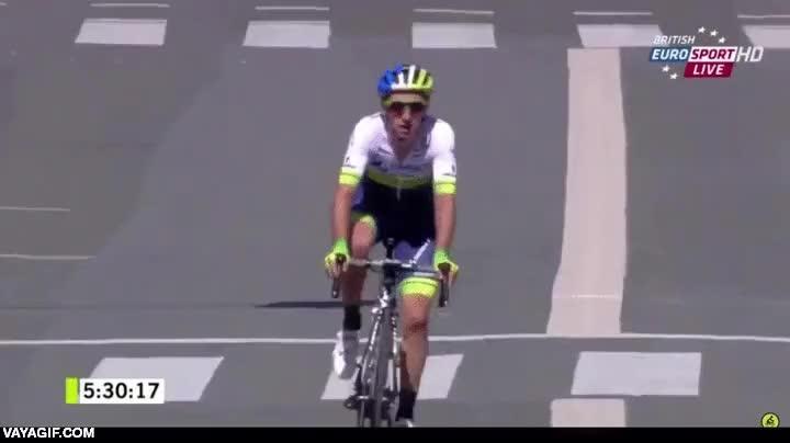 Enlace a El ciclista que ganó una etapa sin saberlo