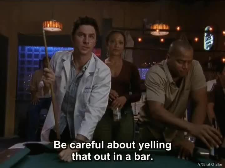 Enlace a Frases que es mejor no gritar en un bar