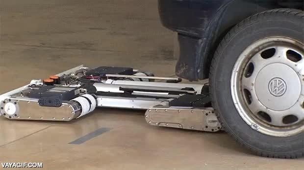 Enlace a Robots que pueden aparcar tu coche automáticamente, el futuro amigos