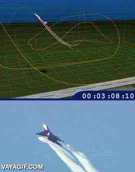 Enlace a La maniobra de vuelo acrobático casi imposible