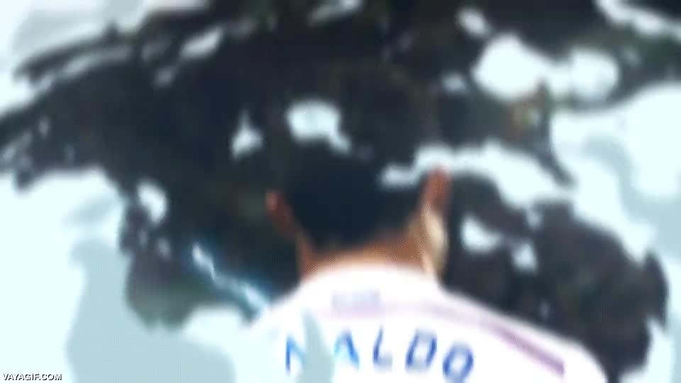 Enlace a Cristiano Ronaldo convirtiéndose en Super Saiyan, hay gente con mucho talento artístico