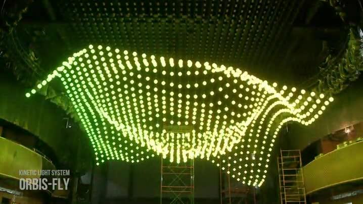 Enlace a Espectacular montaje de luz