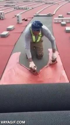 Enlace a Y así es cómo hacen las pistas de atletismo