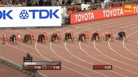 Enlace a Así fue la final de 100m en el Mundial de Atletismo, con Usain Bolt como ganador