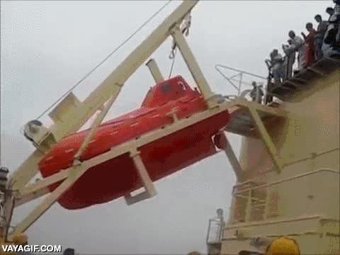 Enlace a Corred todos, al barco salvavidas, ahí estaréis a salvo