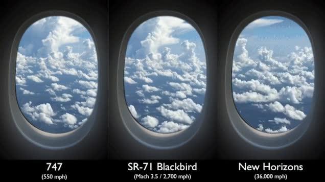 Enlace a Esta es la velocidad de las diferentes aeronaves, incluyendo la New Horizons