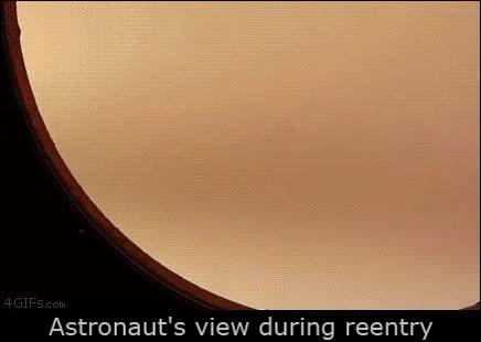 Enlace a Esto es lo que puede ver un astronauta cuando vuelven a entrar en el planeta
