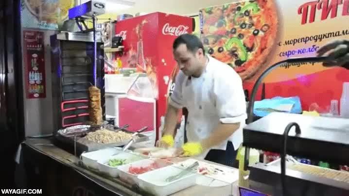 Enlace a El samurai del Shawarma