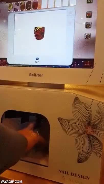 Enlace a La máquina automática de manicura