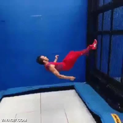 Enlace a El maestro acrobático de las camas elásticas