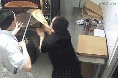Enlace a Su pizza ya está lista, señ...
