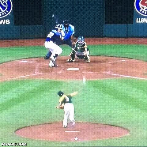 Enlace a Cuando eres tan bueno en el baseball que dejas impresionados hasta a tus rivales