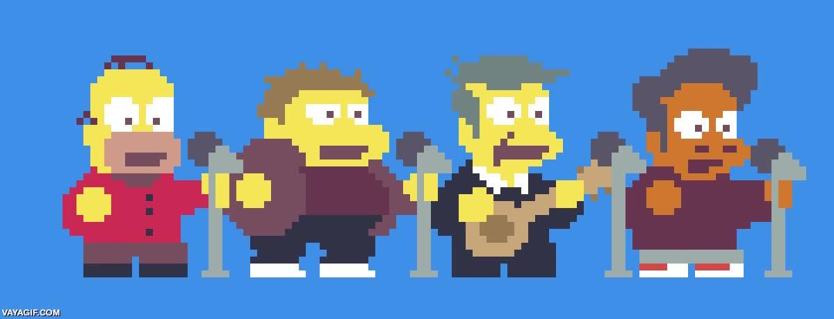 Enlace a Los Solfamidas de Springfield en 8-bits