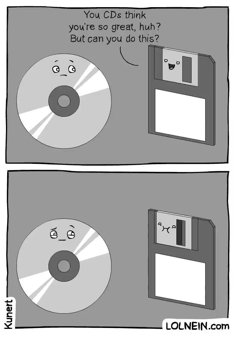 Enlace a Vosotros los CDs os creéis muy guays, ¿pero podéis hacer esto?