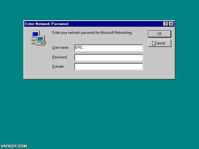 Enlace a El sistema de seguridad de Windows 98 era inquebrantable