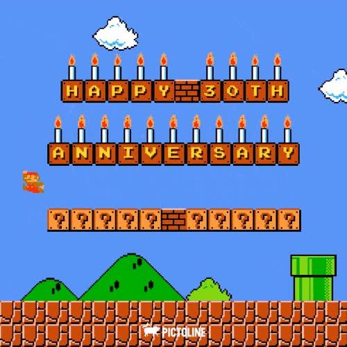Enlace a ¡Super Mario Bros. ya es treintañero!