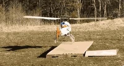 Enlace a Cambia el tren de aterrizaje de los helicópteros por patas robóticas y podrás aterrizar donde sea